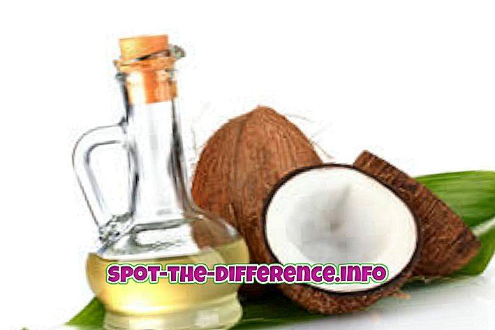 Razlika između maslinovog ulja i kokosovog ulja za kosu