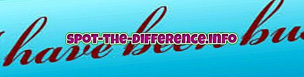 Diferența dintre ființă și ființă