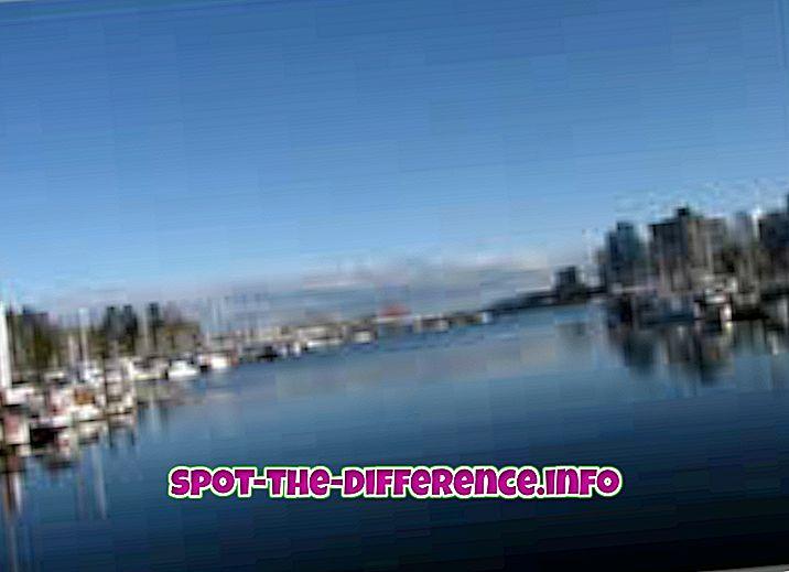 populaarsed võrdlused: Erinevus pinnavee ja põhjavee vahel