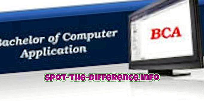 популарна поређења: Разлика између БЦА и МЦА