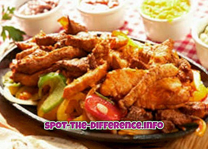 ความแตกต่างระหว่างอาหารยุโรปและอาหารอิตาเลียน