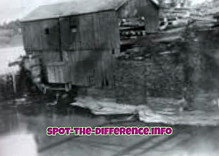 populære sammenligninger: Forskjellen mellom Mill og Factory
