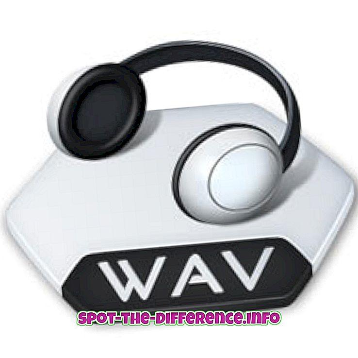 Разлика между WAV и MP3 аудио формат