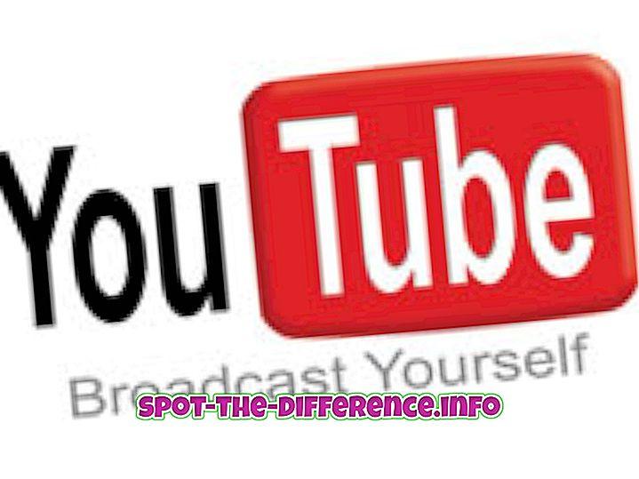 Perbedaan antara YouTube dan Vevo