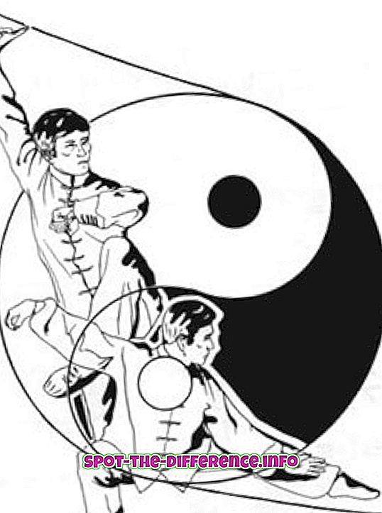 Rozdíl mezi Tai Chi a Pilates