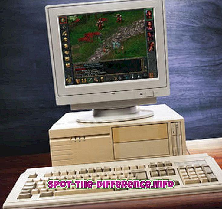 populære sammenligninger: Forskjellen mellom PC-spill og konsollspill
