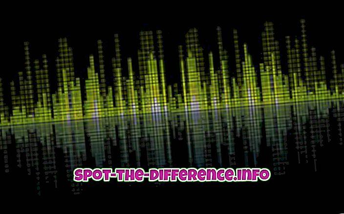 Sự khác biệt giữa Âm thanh và Âm thanh