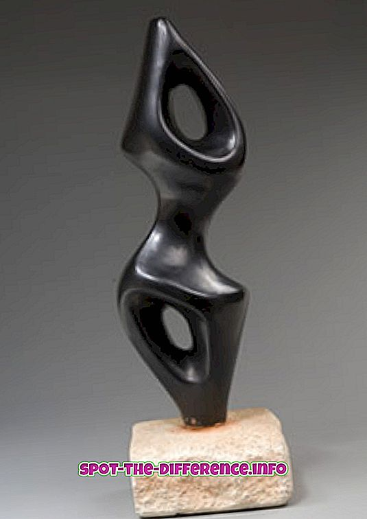 populaarsed võrdlused: Skulptuuri ja arhitektuuri erinevus