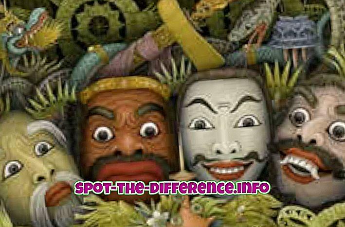 perbandingan populer: Perbedaan antara Antropologi, Sosiologi, Psikologi, Etnografi dan Arkeologi